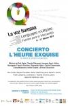 Concierto L'Heure Exquise. 85 años de música francesa