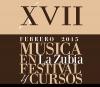 Cartel de Festival XVII Música en La Zubia: Febrero 2015 en el que Niurka Gonzál